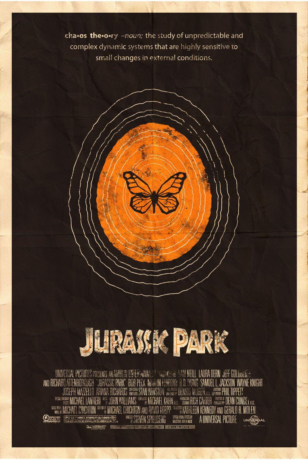 Jurassic park wall art movie art silk print poster 24x36inch60x90cm 018