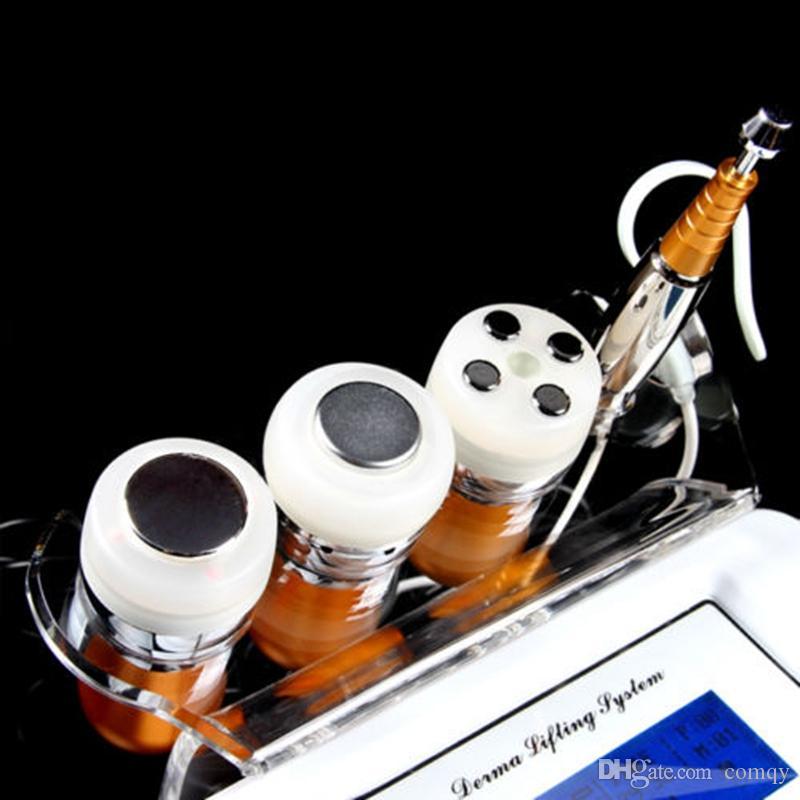 4 in1 no-إبرة mesotherapy بقع خفيفة بالموجات فوق الصوتية الحيوية الوجه رفع الرعاية تجاعيد إزالة pdt الجلد تجديد الجهاز