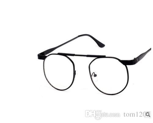 4366ebe3be5 2019 New Korean Version Of Metal Retro Round Men S And Women S Eyeglasses  Frame