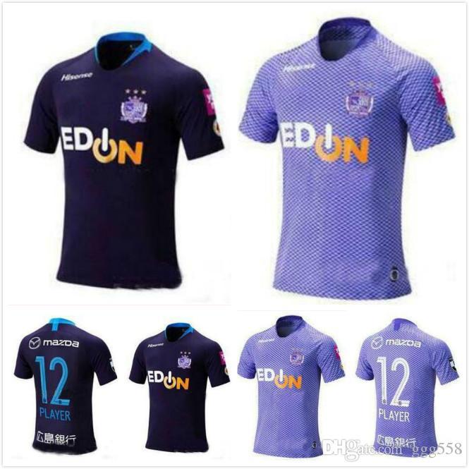 e0c48034159 2019 1 19 20 J1 League Sanfrecce Hiroshima Soccer Jerseys 2019 Home  12  PLAYEY Soccer Shirt Away Black Football Uniform Sale From Ggg558