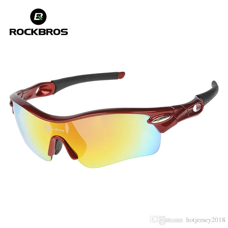 a1edd12e924 ROCKBROS Polarized Men s Cycling Glasses Outdoor Sports Sunglasses ...