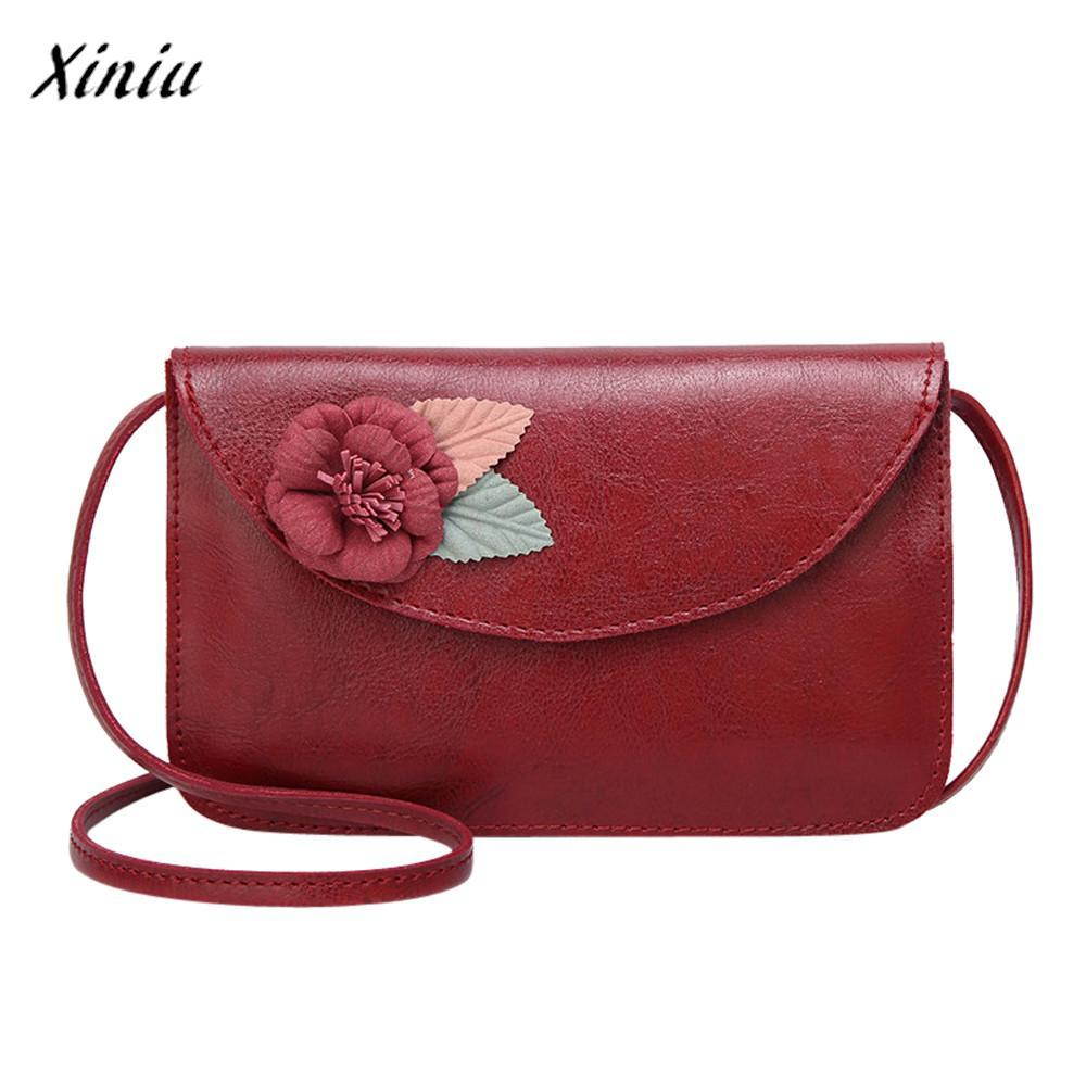 9b37c1409290 Xiniu Fashion Luxury Handbags Women Bags Designer Flower Leather Crossbody  Bag Pretty Style Daily Messenger Shoulder Bag Fiorelli Handbags Discount  Designer ...