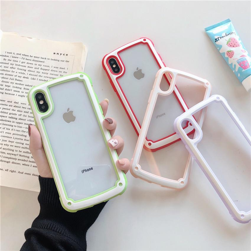 31f8ae4e8f3 Luxury Designer Candy Shockproof Bumper Phone Case For Iphone X XS MAX XR  Back Cover I Phone 8 7 6 6S Plus Slim Cellphone Coque Funda Customized Cell  Phone ...