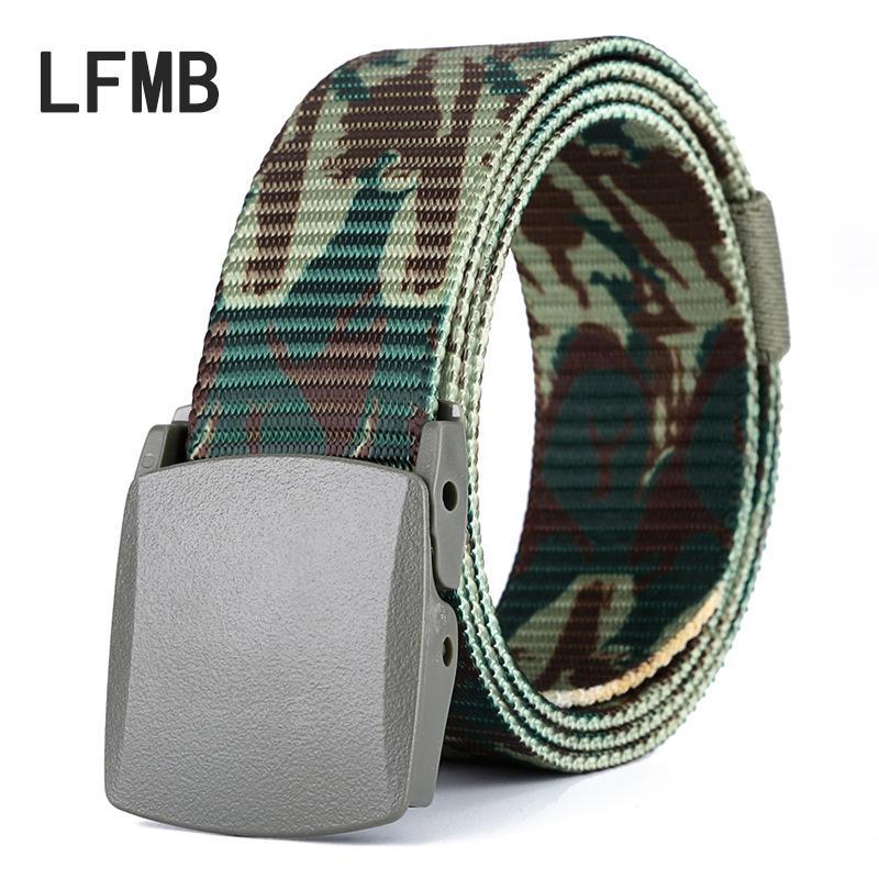 Compre LFMB Moda Cinturón De Camuflaje Masculino Sin Metal Al Aire Libre De  Secado Rápido Cinturón De Camuflaje Hombres Hombres   X27s Genuino A  34.6  Del ... c3b097b4c6fe