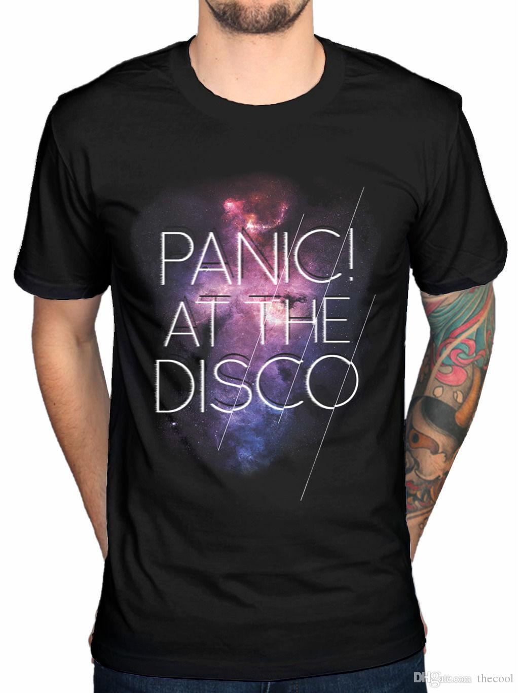 T-Shirt ufficiale Panic At The Disco Cosmic PATD Panic! Live In Chicago Pretty Od