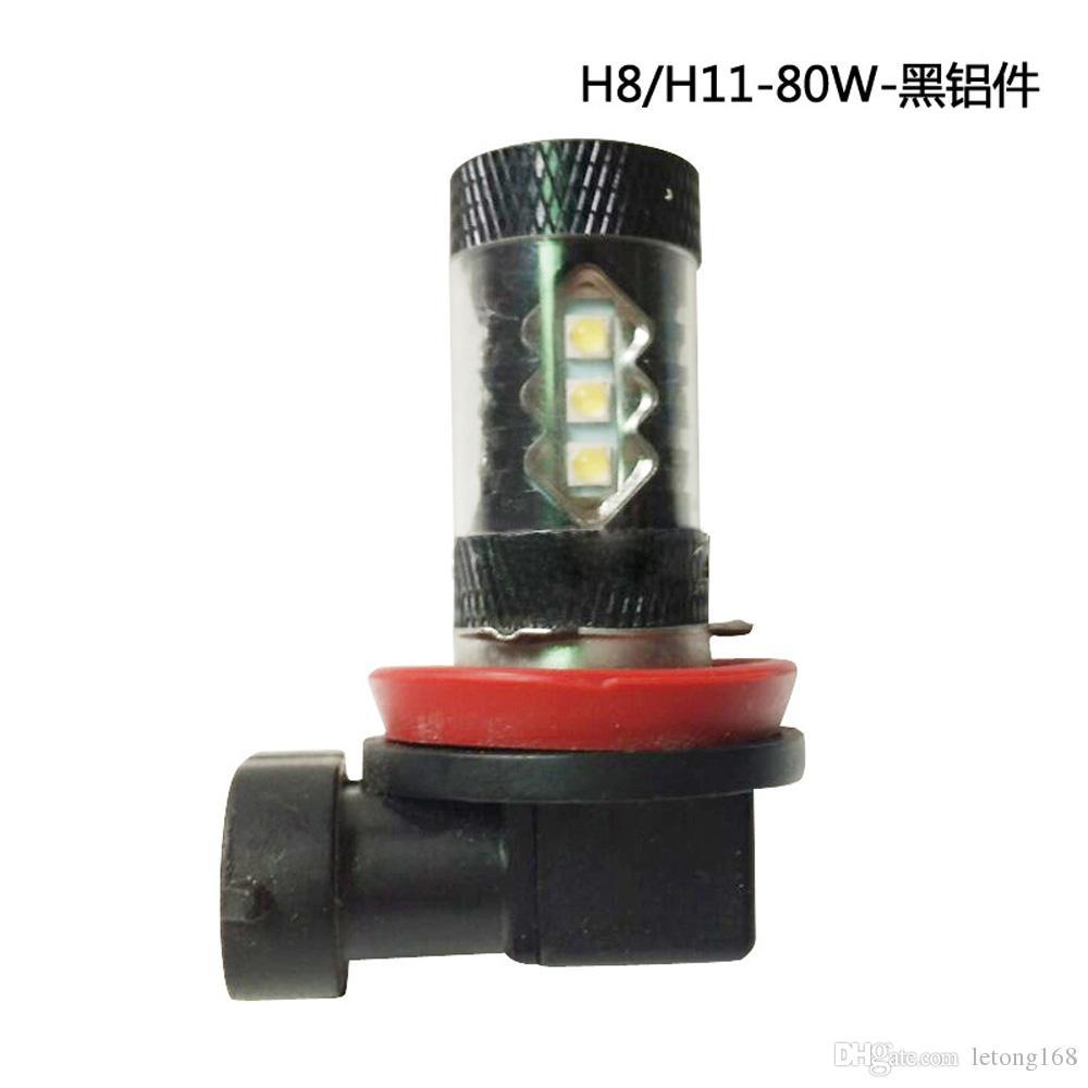 Brouillard Voiture Led 80 Ampoule Conduite 2pcs De 2828 Lumière H11 H8 Style Lampe W Hip Auto Phares GMqpSUzV