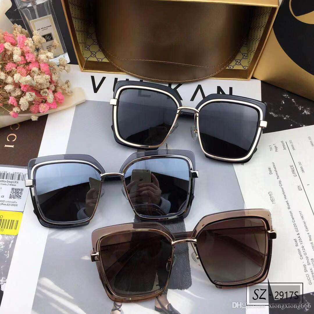 5debd85fe84f9 New Luxury Designer Sunglasses Plank Square Frame Glasses Women Classic  Simple And Elegant Eyewear UV400 Protection Come With Box Black Sunglasses  Cycling ...