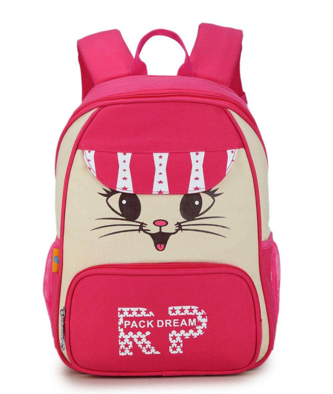 fa52efde7c4e New Women Canvas Backpack Lovely Cat Printing Backpack Cute Cartoon Cat  Printing Backpack School Bag For Teenage Girls Mochila Jute Bags Drawstring  Bags ...