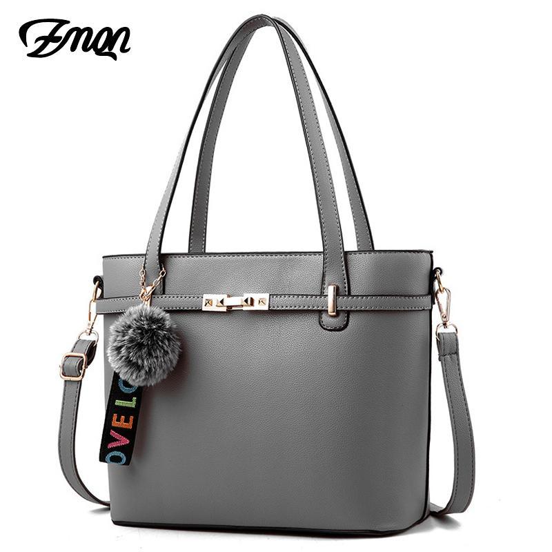 50d8465de3b ZMQN Luxury Handbags Women Bags Designer Handbag High Quality PU Leather  Handbags Ladies Hand Solid Shoulder Woman Bag 2019 A745
