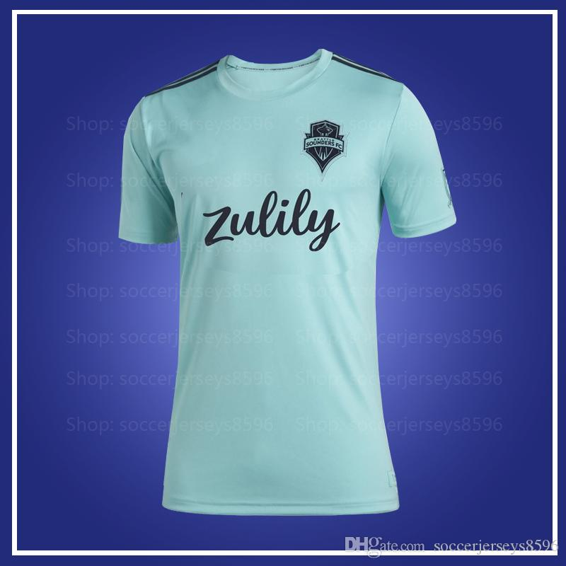 pretty nice 48adc 59b2b MLS Seattle Sounders FC 2019 Parley Jersey 2019 2020 Parley Seattle  Sounders FC men soccer jersey 19 20 MLS women Parley jerseys XXS-4XL