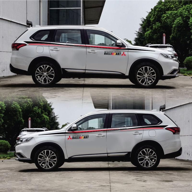 2019 Taiyao Car Styling Sport Car Sticker For Mitsubishi Outlander