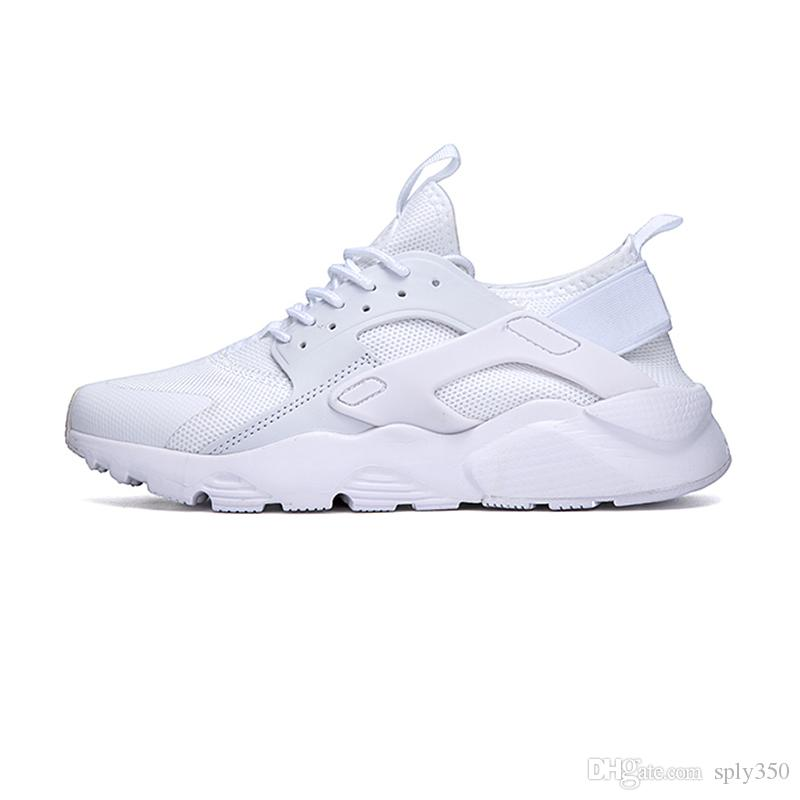 eebd9af8341f 2019 Huaraches 4.0 Huarache Ultra Running Shoes For Men Women Black White  Red Sneakers Triple Huaraches Sports Shoes Size 36 45 Mens Running Shoes  Walking ...