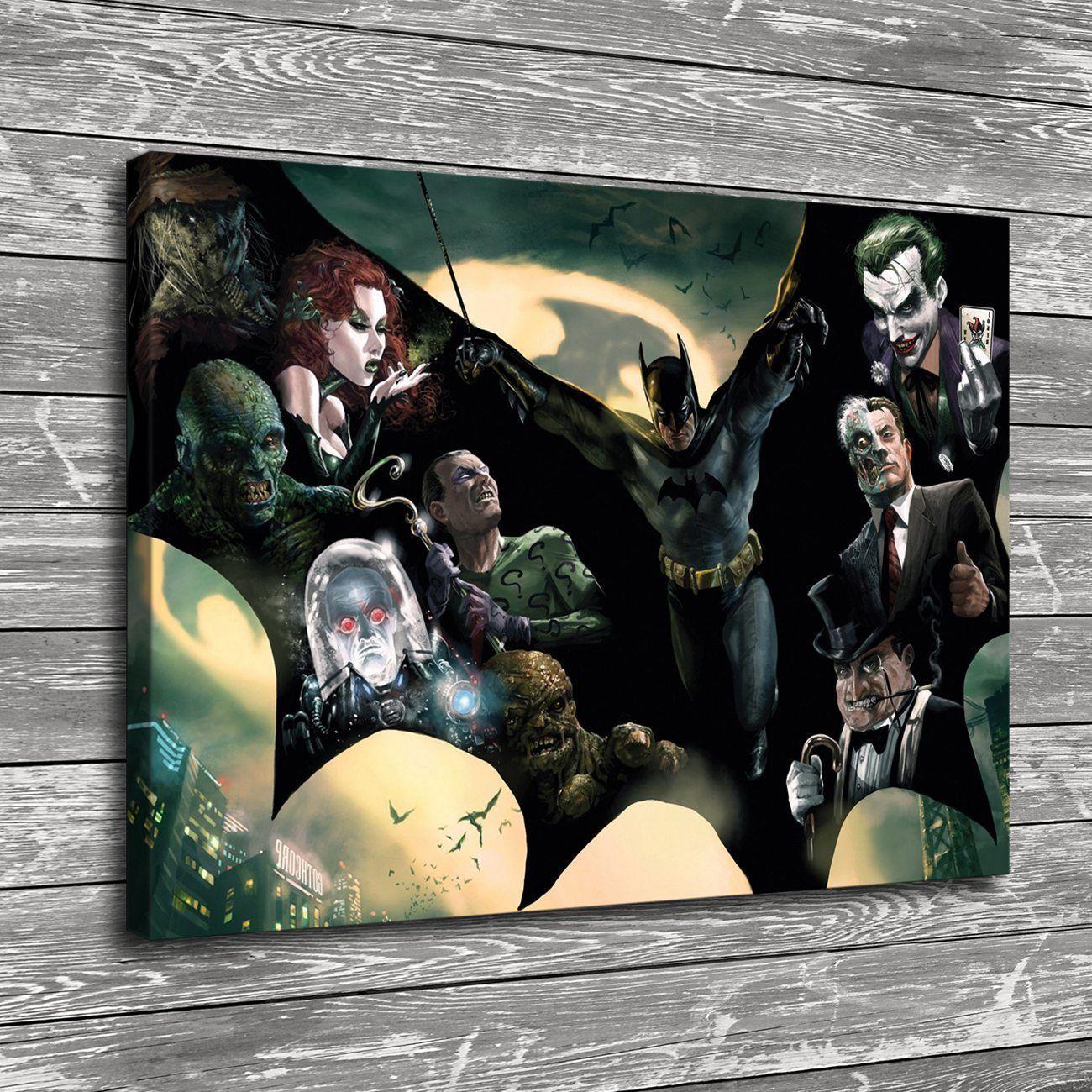 Batman Artwork Canvas