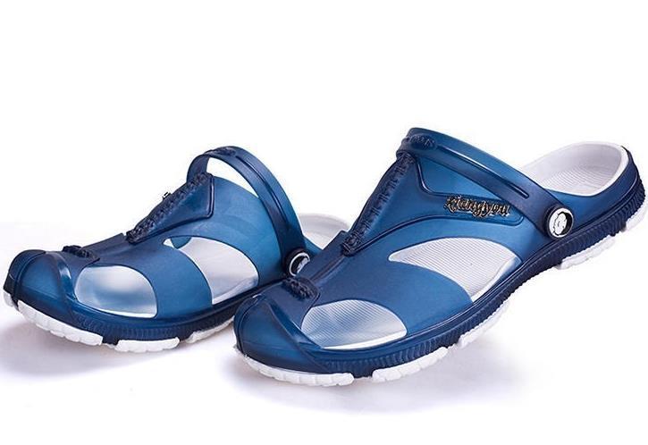 7ac9ced6f Jeunesse en plastique, gelée, sandales adultes, fond plat, fond souple,  chaussures de plage en plastique à séchage rapide pour plastique chaud