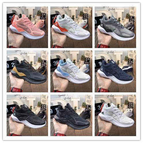 [With Box] 2019 New Designer brand Kolor Alphabounce Beyond 330 Mens Running Shoes Alpha bounce Sports Trainer Sneakers Woman Shoes