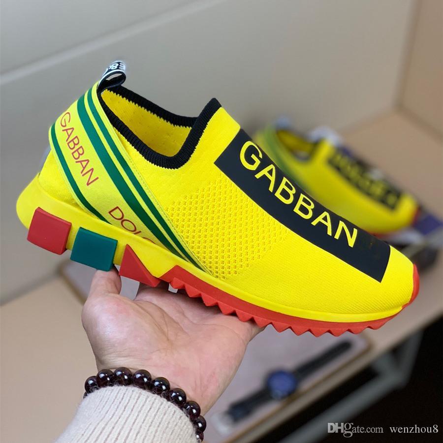 e6ba0aa7a5 Compre Lujo Alta Calidad DOLCE GABBANA D.G Zapatos De Diseñador Para ...