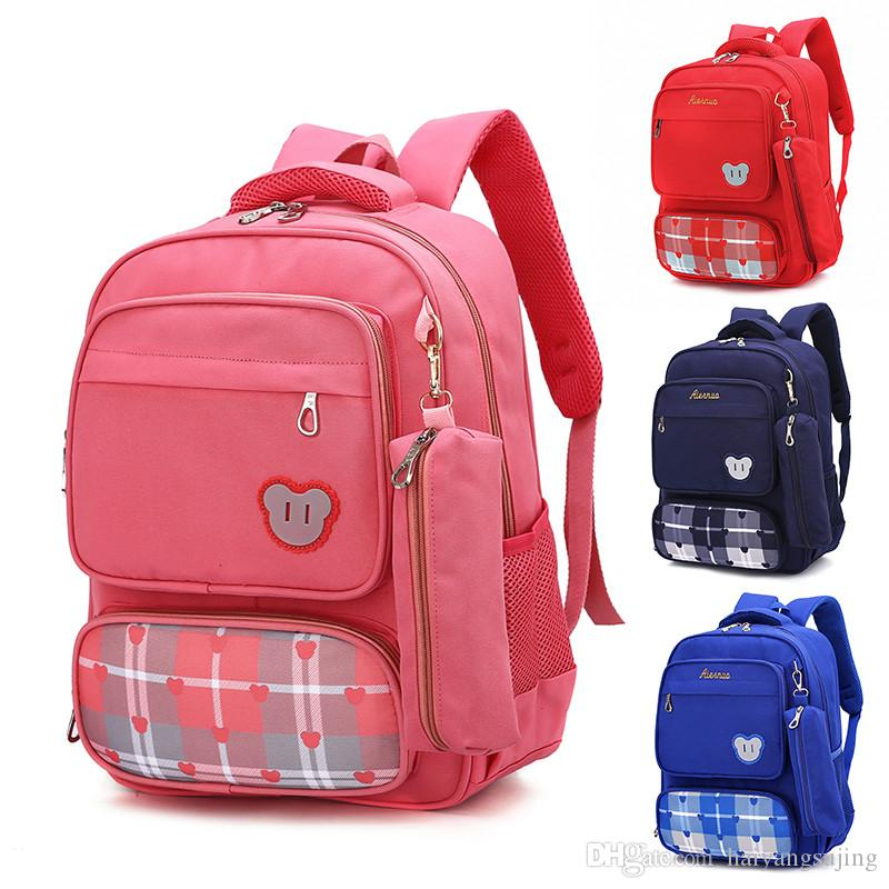 Waterproof School Bag Backpack Children Girls Boys Book Bags Satchel  Orthopedic Waterproof Kids Mochila Infantil With Pencil Box Backpacks Hobo Bags  Kids ... f2e20e9da0e19