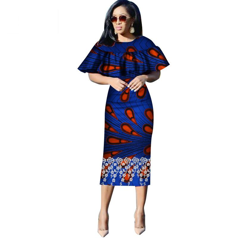 Vestidos African Women Dresses New Fashion Butterfly