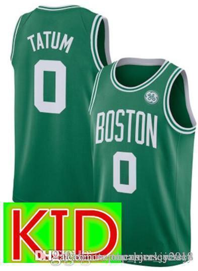 ... closeout 2019 kid boston 0 jayson tatum celtics 11 kyrie irving jersey  kid houston 13 james 0f6425b32