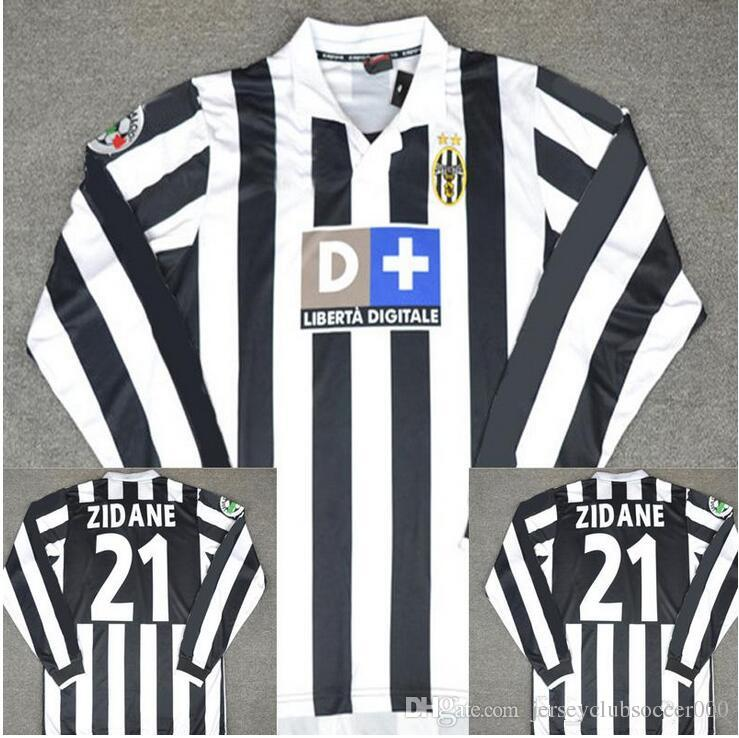 a6a1d6013 2019 99 00 Retro Soccer Jersey Conte Inzaghi Del Piero Zidane Davids 1999  2000 Juves Football Shirts Vintage Camiseta Maillot De From  Jerseyclubsoccer000