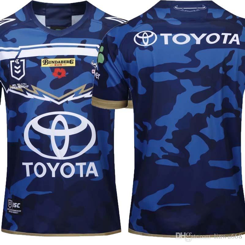 Top Rums 2020.Aaa Top Quality Australia 2019 2020 Cowboys Rugby Jerseys Home Away Jersey Nrl National Rugby League Nrl Jersey Shirt S 3xl