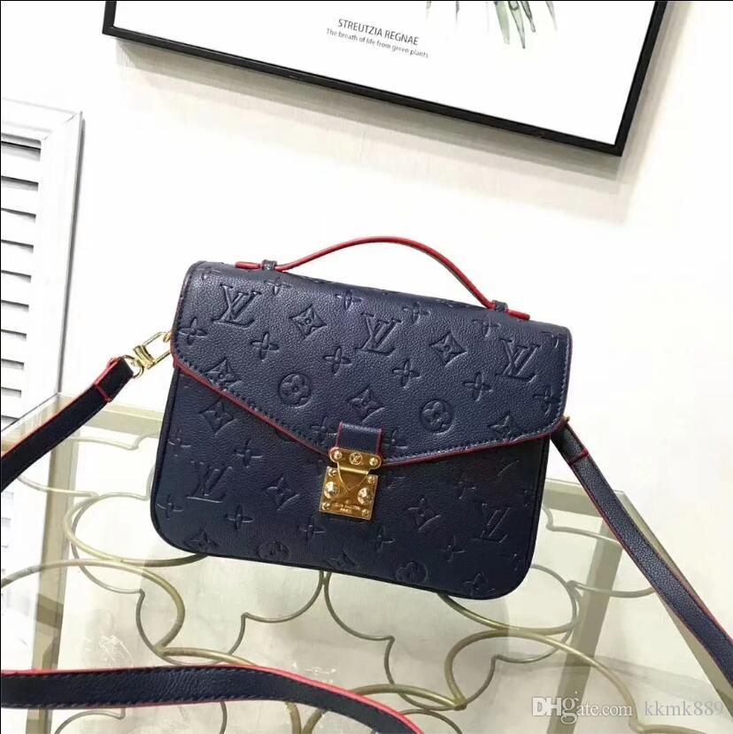 Women's handbag classic small series of fashion hot mom Lady chain bag elegant bulk corrugated woman Leather Shoulder purse handbags bag T68