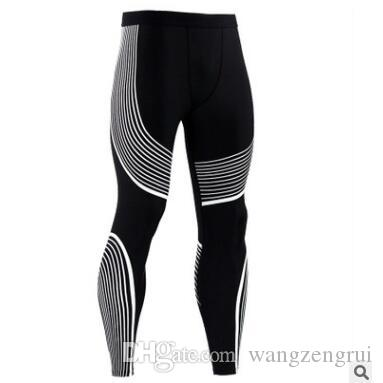 27256fd75979c2 2019 Fashion Mens Gym Compression Leggings Sport Training Pants Men Running  Tights Trousers Men Sportswear Dry Fit Jogging Pants With S 3XL From  Wangzengrui ...