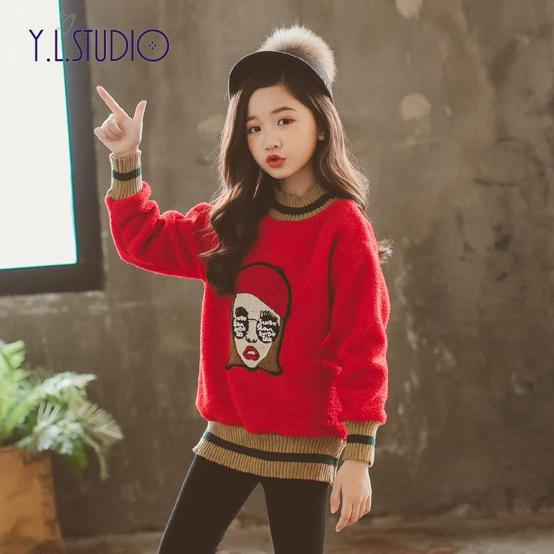 eb75c6191f1c 2019 Winter Clothes For Girls Size 10 Winter Top 2018 Autumn Fall Children  Hoodie Baby Girl Sweatshirts Kids Clothes Girls Clothing From Laurul