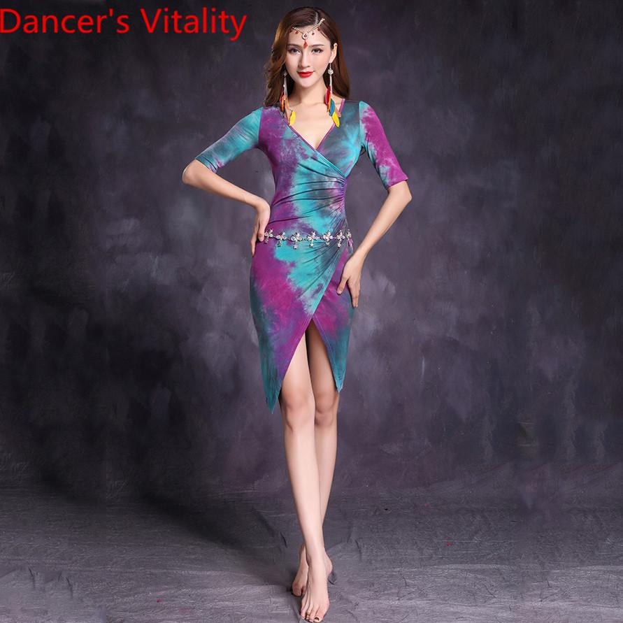 06344ec0d4e 2019 Belly Dance Practice Costume 2019 New Indian Oriental Dancing  Performance Clothes Dress Women Adult Sexy Garments Outfits From Dayup,  $52.23 | DHgate.