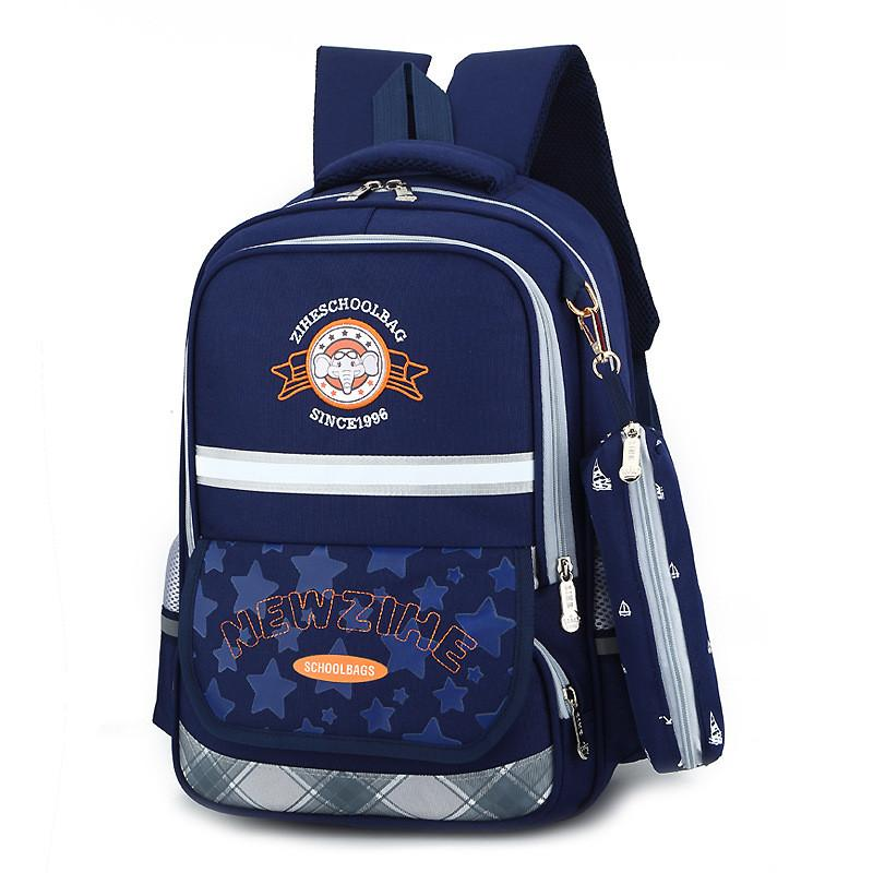 0205ad8e28 Fashion New Children School Bags for Teenagers Boys Girls Orthopedic School  Backpack Waterproof Satchel Kids Book Bag Mochila Y18120601 Online with ...