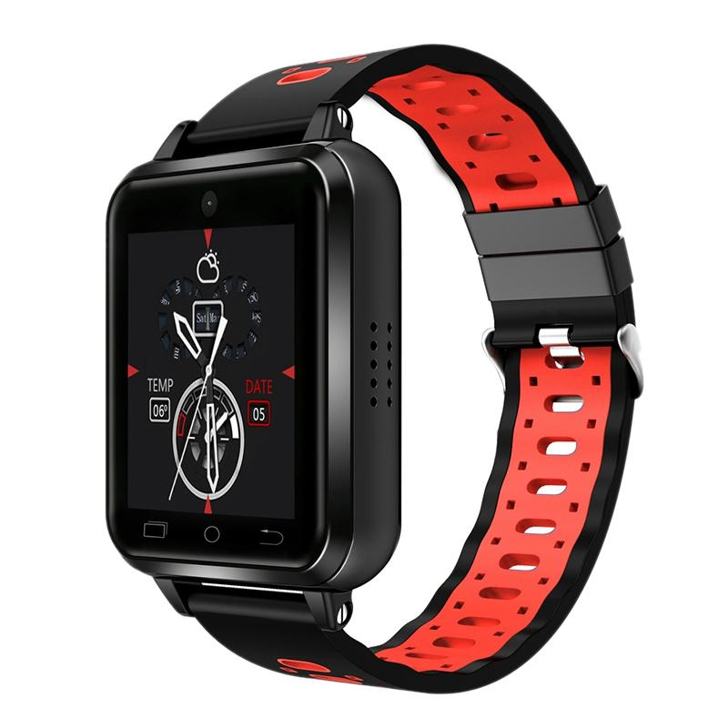 Q1 Pro 4G Smart Watch Android 6 0 Mtk6737 Quad Core 1Gb/8Gb Smartwatch  Phone Heart Rate Sim Card Support Change Strap 18Mm
