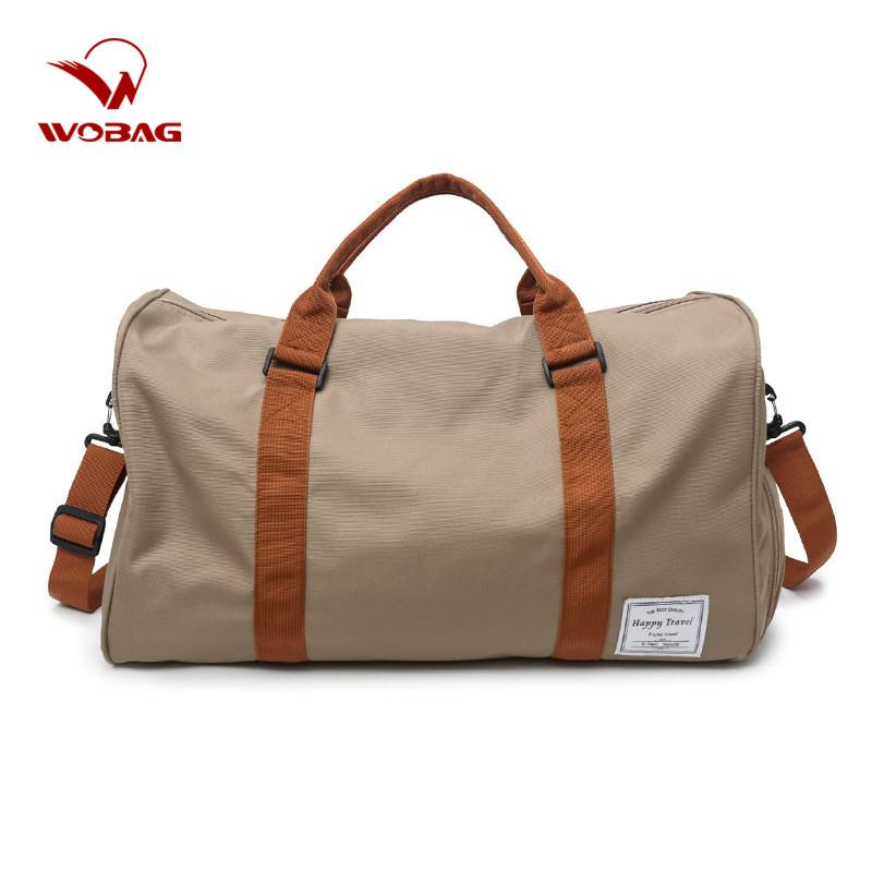 New Large-capacity Outdoor Short-distance Travel Bag Women Oxford Waterproof Duffel Bag Men Weekend Sports Fitness