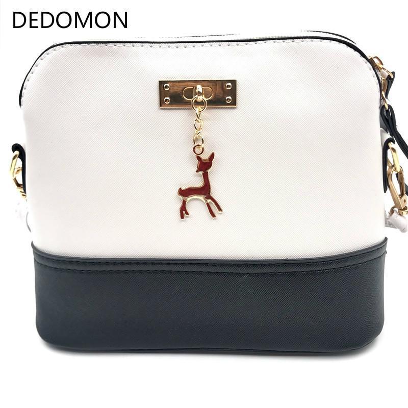 f71330c03f91 Großhandel 2019 Mode Heißen Frauen Handtaschen Mode Shell Tasche Leder  Frauen Messenger Bags Mädchen Für Umhängetaschen Dekorative Deer Gebrandet .