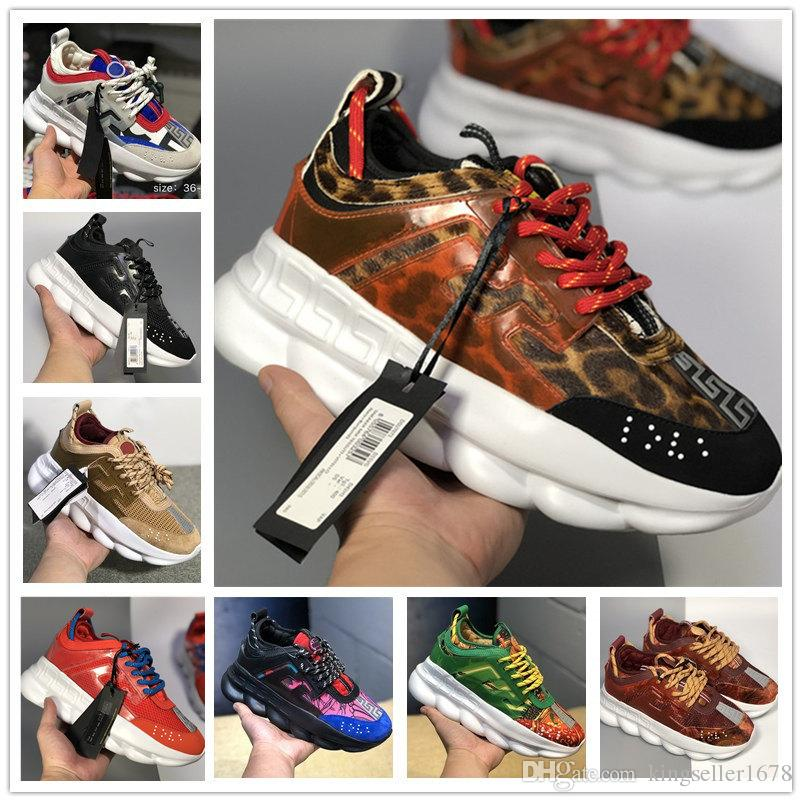 b47ded8f8059 Chain Reaction Love Sneakers Sport Fashion Luxury Designer Casual Shoes  Trainer Lightweight Link Embossed Sole With Dust Bag Shoes For Women Dansko  Shoes ...