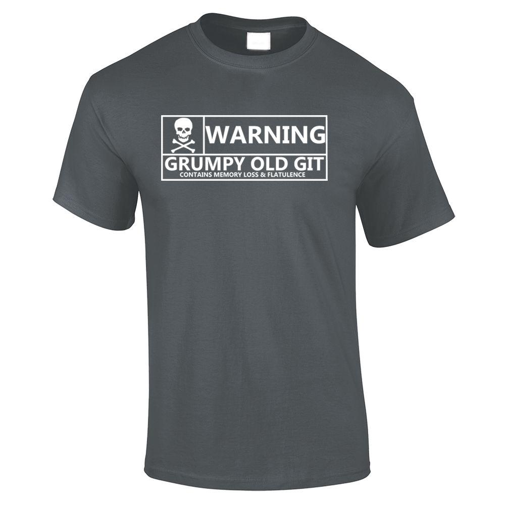 9a6683a857 Grumpy Old Git Mens Cotton Tee, T Shirt Funny Quotes Sayings TS634 Funny  Unisex Casual Top Print T Shirt Slogan T Shirts From Dappachappy, $12.96|  DHgate.