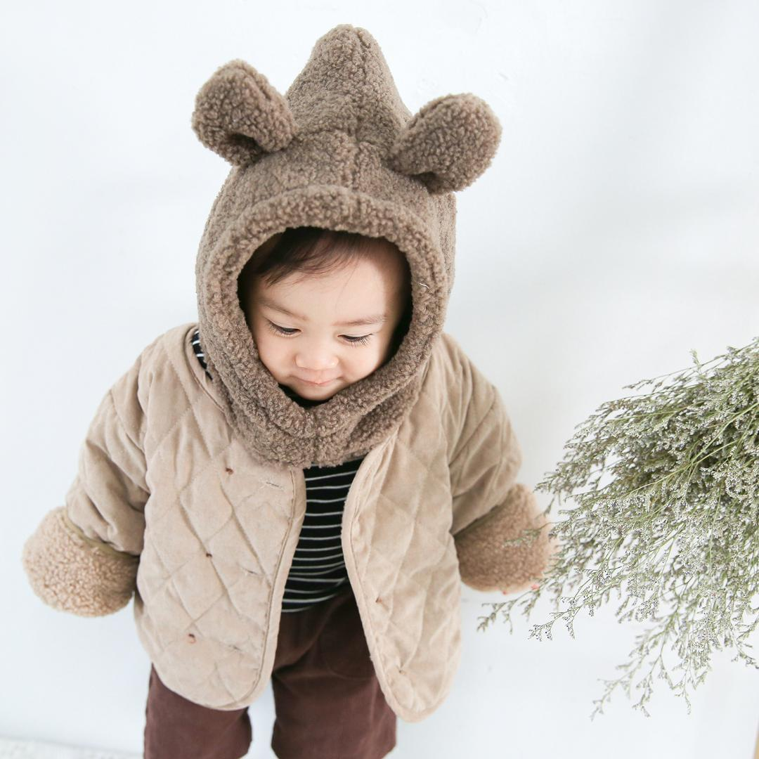 97d2a6af1424 Mihkalev Baby Girl Winter Coat 1 4Year Infant Girls Jacket And Coat With  Hat Children Fleece Clothing Outerwear Kids Clothes Winter Jackets For Boys  On Sale ...