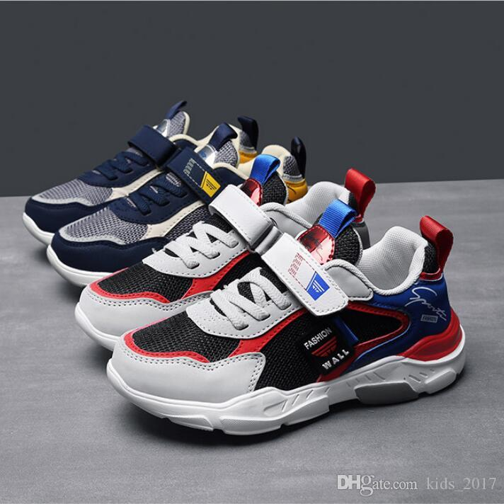 outlet store 7d803 026ff Children Running Shoes Boys Sneakers Girls Sport Shoes Size 31-37 Kids  Leisure Trainers Casual Breathable Kids Sports Shoes