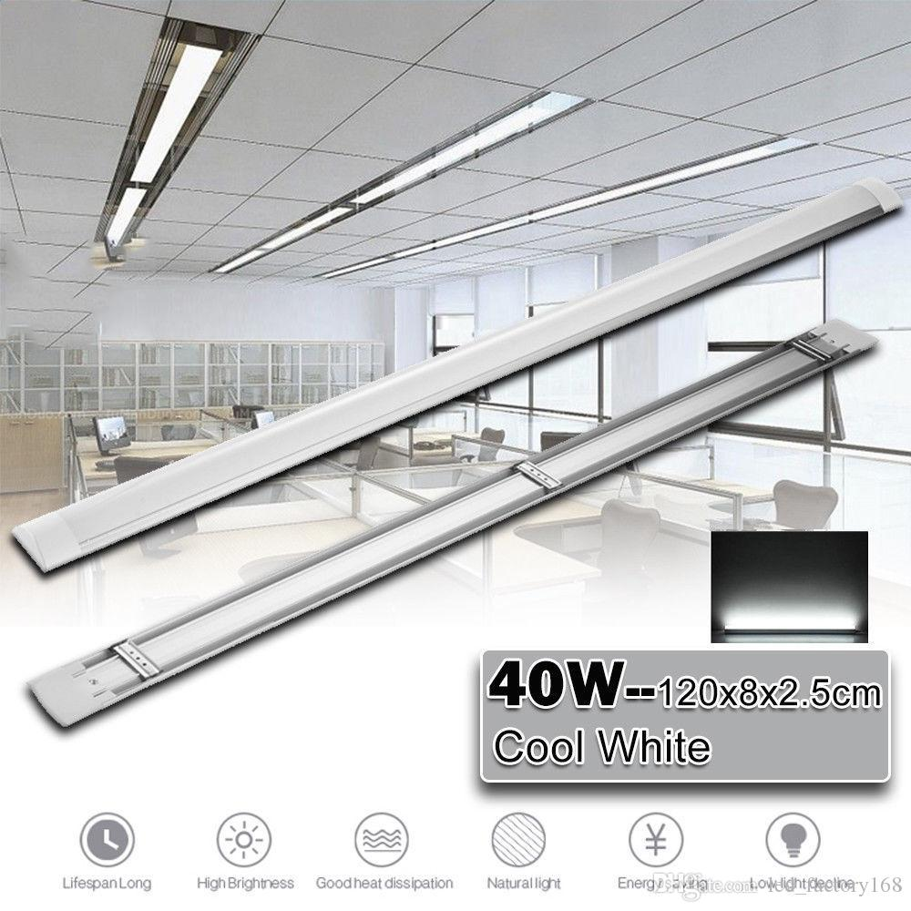 3 9ft led batten tube light ceiling lamp natural white 5000 6000k surface integrated led tubes explosion led tri proof light ac 110 usa from