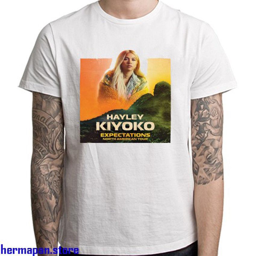 b50e7524a New Hayley Kiyoko North American Tour Men's White T-Shirt Size S to 3XL  Funny free shipping Unisex Casual Tshirt top