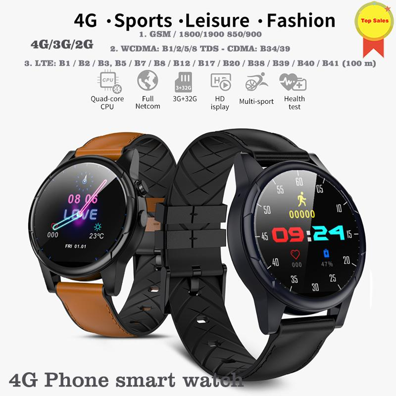 718f659b1 4G Smart Watch Android 7.1 Smart Watch 1.6inch Big IPS Screen WiFi GPS Sim  Card 4G Smartwatch Phone Smartwatch 2MP Camera 600mah Pebble Smartwatch  2015 ...
