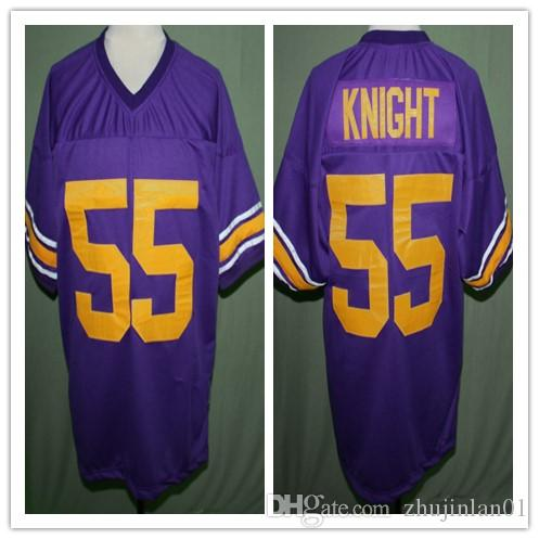 SUGE KNIGHT #55 LYNWOOD HIGH SCHOOL FOOTBALL JERSEY Embroidery Stitched  Custom any Number and name Jerseys