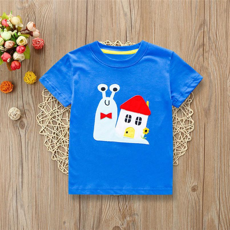 6feeae94c 2019 Summer Baby Boys Tops And Tees Children Kids Boys Short Sleeve ...