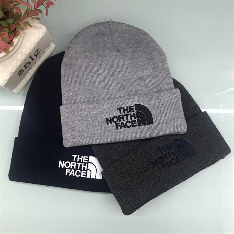 2019 Brand NF Mens Winter Knit Hats Teenager Boys Hip Hop Beanies The North  Knitting Face Outdoor Crochet Hats Embroidery Letter Warm Skull Caps From  ... aa899063642