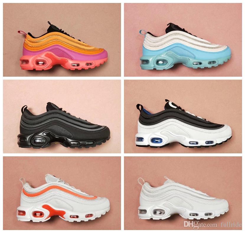 2019 nike air max 97 tn luxe Sport Tn Plus Femmes Hommes Chaussures De Course ultra tn Chaussures designer Hommes Zapatiallas Coussin Marche Courir