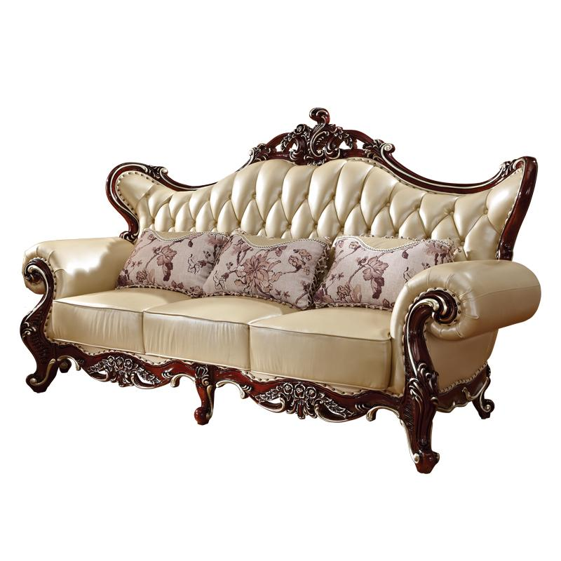 Pleasant European Style Sofa 1 2 3 Combination French Sofa Solid Wood Sofa Set Gamerscity Chair Design For Home Gamerscityorg