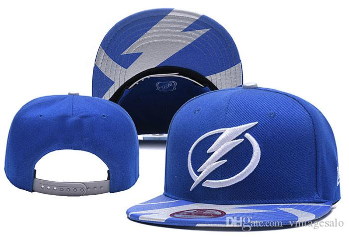 Men Women Tampa Bay Team Lightning Snapback Hat Adjustable Caps Blue Knit  Cuffed Hat Tampa Bay Lightning Beanie Lightning Snapback Hat Lightning  Adjustable ... a37ecb33cd