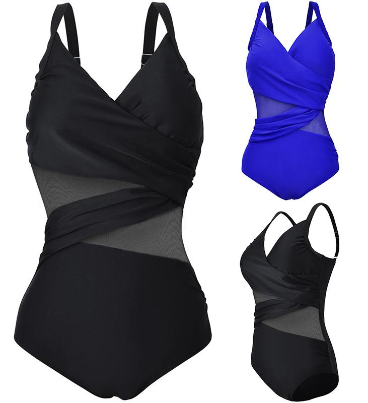 f80dc1dd839a7 2017 Sexy Women Lace Swimwear One Piece Swimsuit Retro Vintage Bathing Suit  Sexy Monokinis Beachwear Plus Size M~4XL Online with  20.96 Piece on ...