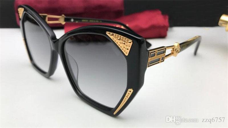 1e262986a8 Compre Nueva Venta De Moda Mujer Diseñador Gafas De Sol Cat Eye Frame  Calidad Superior Popular Generoso Y De Gran Tamaño Estilo 0410 Uv400 Gafas  De ...