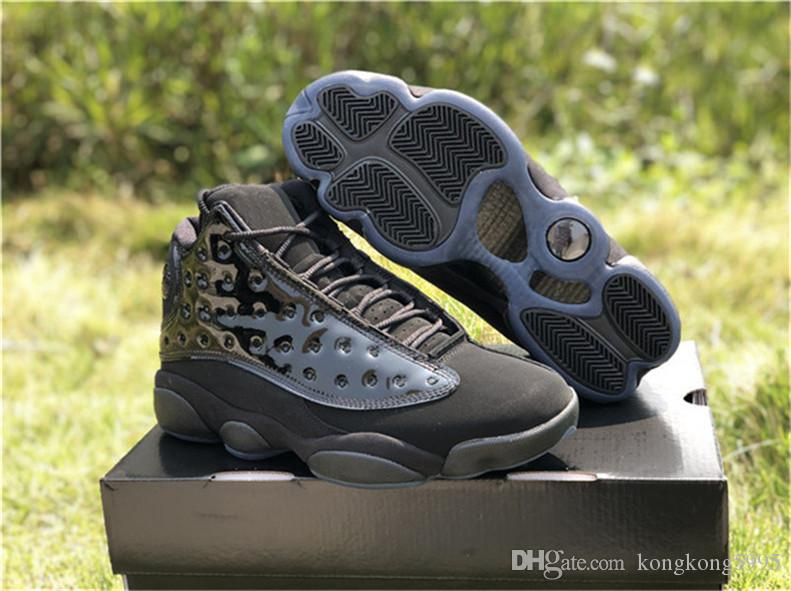 caea5c4f9a4 New 13 Cap And Gown Men Basketball Shoes 13S Authentic Quality Real Carbon  Fiber Sports Sneakers 414571 012 Low Top Basketball Shoes Kevin Durant  Basketball ...