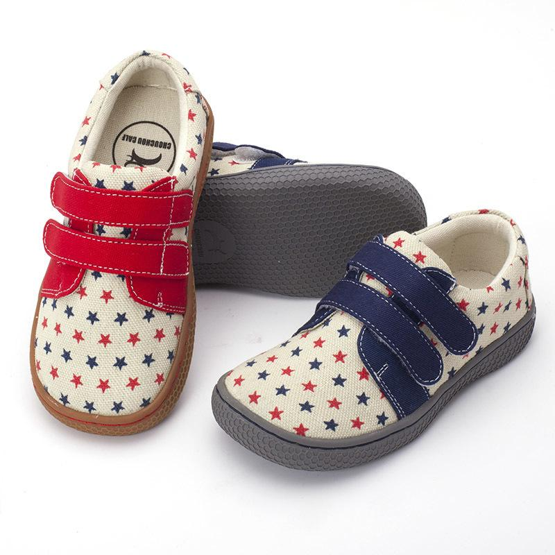 8282e46146 Pekny Bosa Brand Canvas Children Barefoot Shoes Fabric Stitching Kids Shoes  For Boys Girls School Shoes Enough Top Toe For Kids Y190523